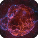Sh2-240 in 57 Megapixels,                                Jim Lindelien