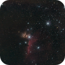 Orion's belt with Horsehead and Flame Nebula,                                AC1000