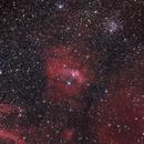 NGC 7635 - Bubble Nebula - HaRGB,                                Panagiotis Ziogas