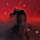 B 33 - Horse head nebula - now in colours!,                                Lorenzo Siciliano