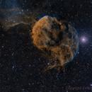 Jellyfish Nebula - IC 443 - SHO,                                TimotheusIan