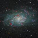 Triangulum in RGB + Ha,                                Driveway_Astronomy
