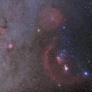 Winter Milkyway around Orion,                                reishi145