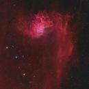 Backyard - IC405 – Flaming Star Nebula,                                  Min Xie