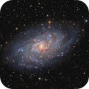 M33 Galaxy composition,                                Giovanni Paglioli