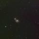 M51 Whirlpool Galaxy-RGB-widefield,                                Adel Kildeev