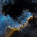 NGC 7000 North America Nebula / Cygnus Wall (SHO),                                Matt Baker