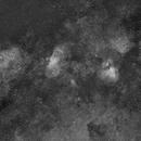 The Eagle and the Omega Nebulas - H-alpha,                                TC_Fenua