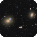 M 60 and M 59 from Virgo Cluster,                                Boris Emchenko