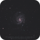A shy M101 with stock DSLR,                                Christophe Perroud