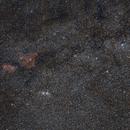 Milky Way in Cassiopeia and Perseus,                                Nurinniska