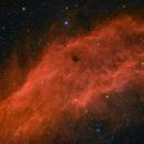 The California Nebula: Narrowband/Broadband Blend,                                Alex Roberts