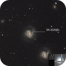 My first supernova -  SN 2020jfo in M61 galaxy,                                Ray's Astrophotog...