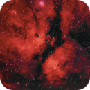 NGC 1318B - The Butterfly Nebula H-alpha region,                                David Andra