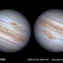 Jupiter and GRS,                                MAILLARD