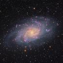 M33 in RGB,                                Peter Shah