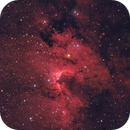 The cave nebula and its surroundings (SH2-155),                                Sven Hoffmann