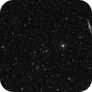 NGC 891 + Abell 347 in And,                                Hans-Friedrich Tr...