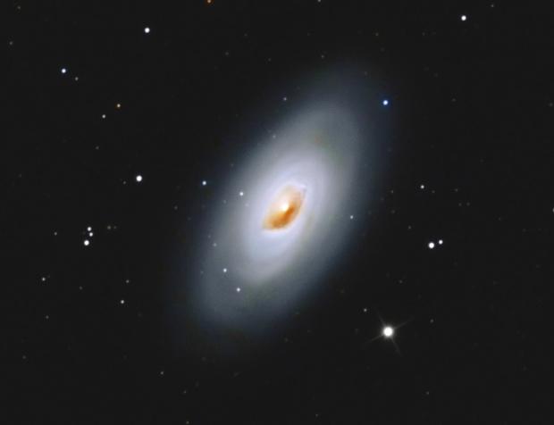 Messier 64,  Blackeye-Galaxie,                                Big_Dipper