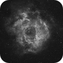 Rosette Nebula in Ha,                                Barczynski