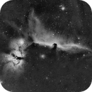IC-434 Nebulosa Cabeza de Caballo en Ha (Horse Head Nebula in Ha),                                Alfredo Beltrán