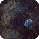 NGC 6888 The Crescent Nebula,                                Ohills