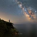 Osservando la Via Lattea,                                Andrea Losi