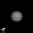 Júpiter Ganymede,                                Roberto Silva