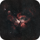 Carina Nebula with a canon 300mm lens,                                Christopher-Peter Lubomir Kelevedjiev