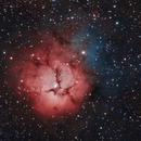 M20 Trifid Nebula,                                Karoy Lorentey