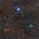 Comet 46P/Wirtanen, Constellation Taurus, Geminid meteor shower 2018,                                Amir H. Abolfath