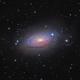 M63~Sunflower Galaxy,                                Fluorine Zhu