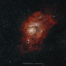 Nebuleuse de la lagune M8,                                Stephane Jung