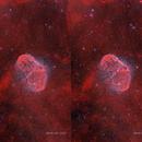 Cross-eye 3D of the Crescent Moon nebula,                                minhlead