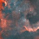 C20 North America Nebula-Cygnus Wall-Ha-HOO (modified)-new processing,                                Adel Kildeev