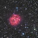 Cocoon Nebula - first LHaRGB test,                                Rodolphe Goldsztejn