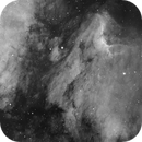 Pelican Nebula in Ha,                                Muhammad Ali