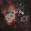 IC 1795 Fishhead Nebula SHO,                                Ola Skarpen SkyEyE