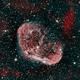 Crescent Nebula 2Color,                                pilotken