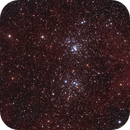NGC 869/884 Double cluster in a different way...,                                Andre van der Hoeven