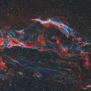 the North Veil Nebula,                                LAUBING