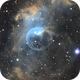The Bubble Nebula in SHO,                                Mason Steidle