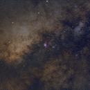 Milky Way center,                                Dean Fournier