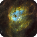 Tadpole Nebula (IC410),                                Charles Bonafilia