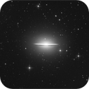 Sombrero galaxy,                                sky-watcher (johny)