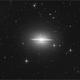 Sombrero galaxy,                                sky-watcher (johny)