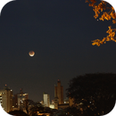 Eclipse of the moon in Piracicaba,                                André G.