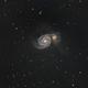 M51 The Whirlpool galaxy,                                Rob Parsons