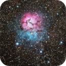 M20 - Trifid Nebula,                                David Gwyn