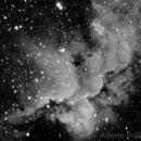 NGC7380 Wizard Nebula In H-Alpha,                                Alberto Pisabarro